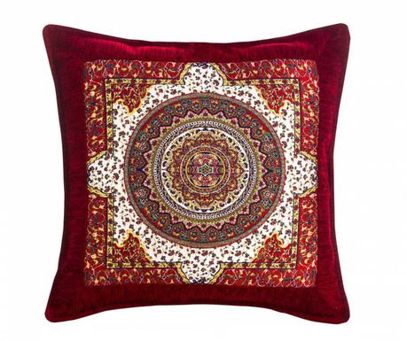 Povlak na polštář Seramik Red 43x43 cm