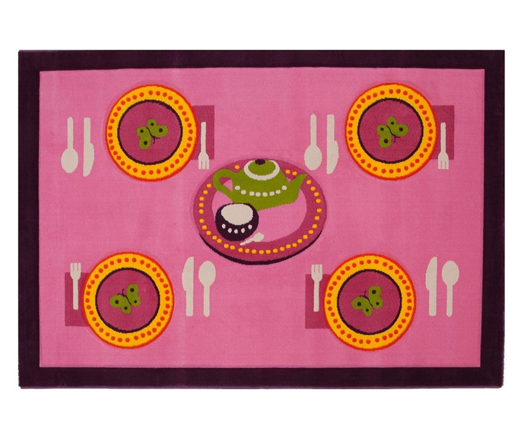 Covor Table Pink 100x150 cm