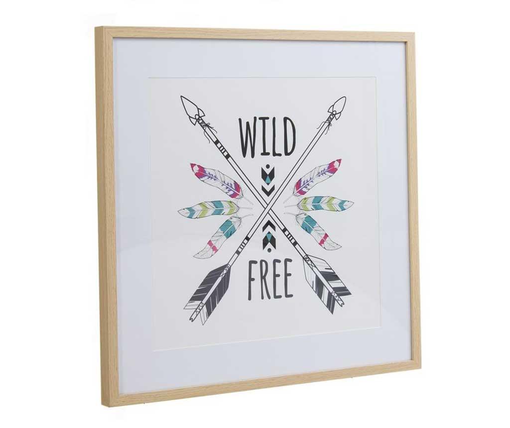 Wild Free Kép 52x52 cm