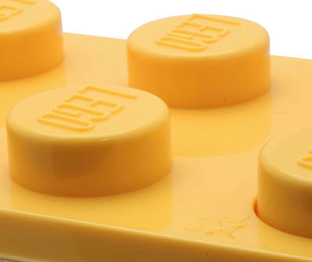 Budilka Lego Brick Monden Yellow
