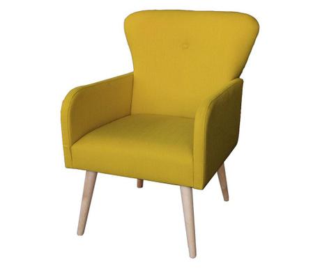 Fotel Lola Mustard