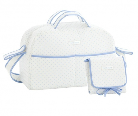 Sada taška a skládací matrace na přebalování Heart