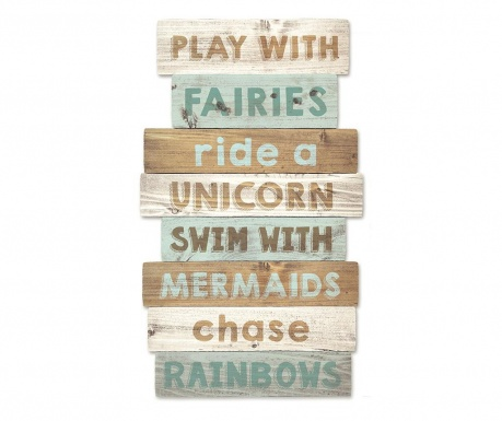 Decoratiune de perete Play With Fairies