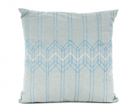 Ukrasni jastuk Stitched Flow Teal 45x45 cm