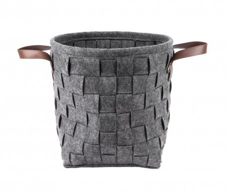 Košara Round Dark Grey