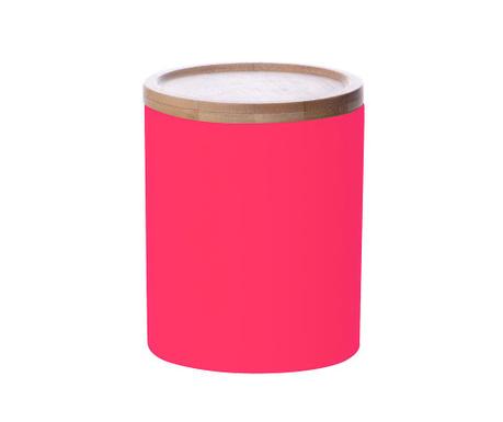Posuda s poklopcem Silk Neon Pink