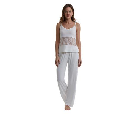 Pijama dama Lineea Cream