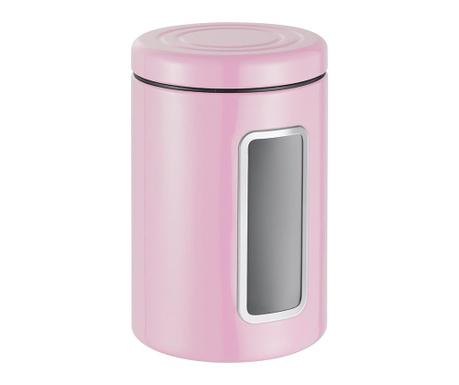 Dóza s víkem Classic Line Pink