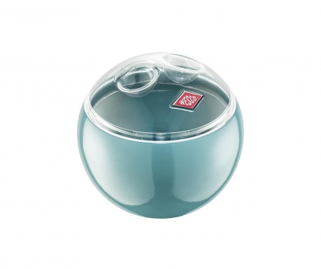Úložná mísa s víkem Mini Turquoise