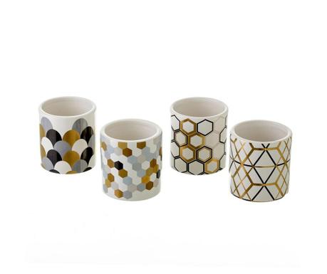 Set 4 vaze Geometrics