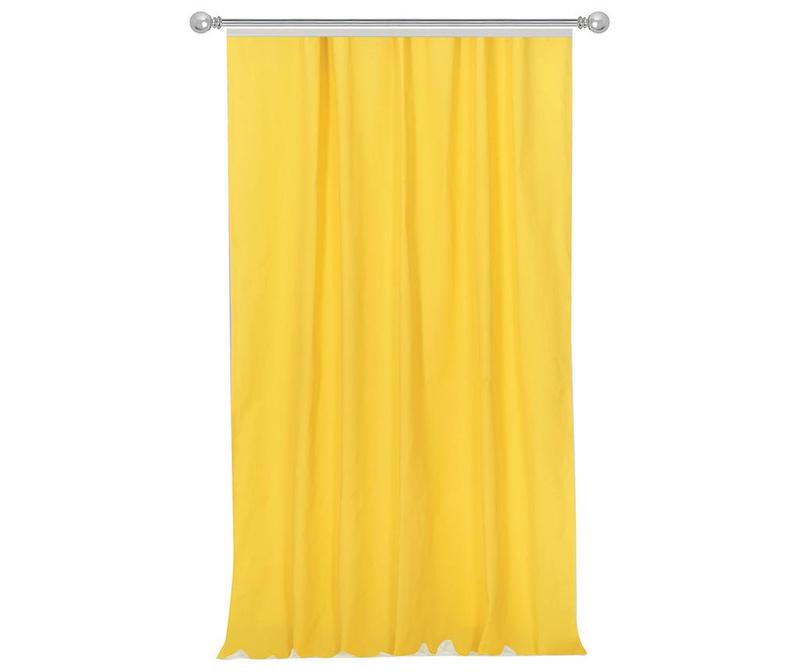 Zastor Simple Yellow 170x270 cm