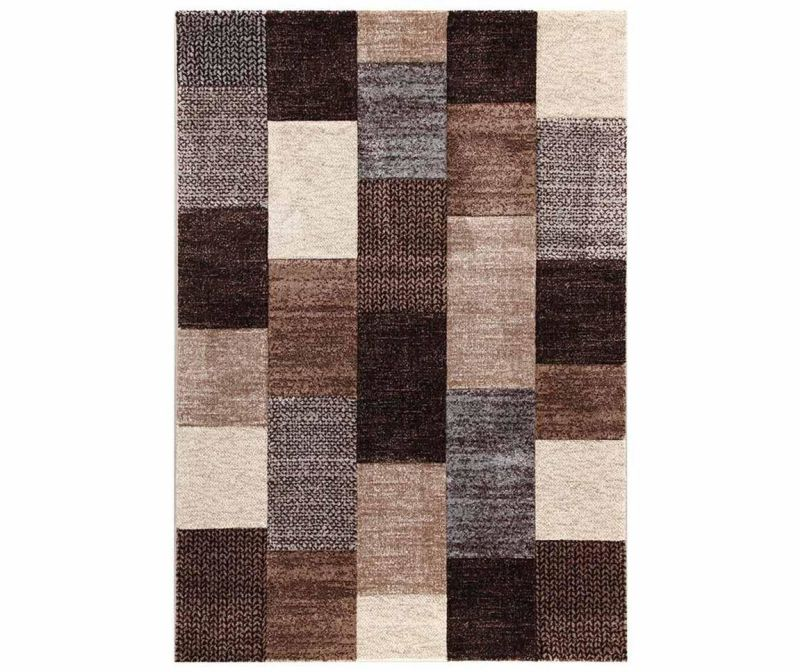 Covor Ray Beige Brown 200x200 cm