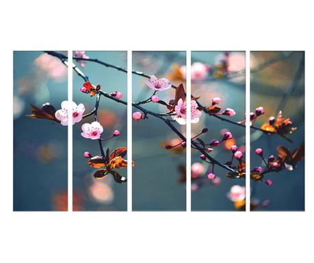 Σετ 5 πίνακες Dew 30x90 cm