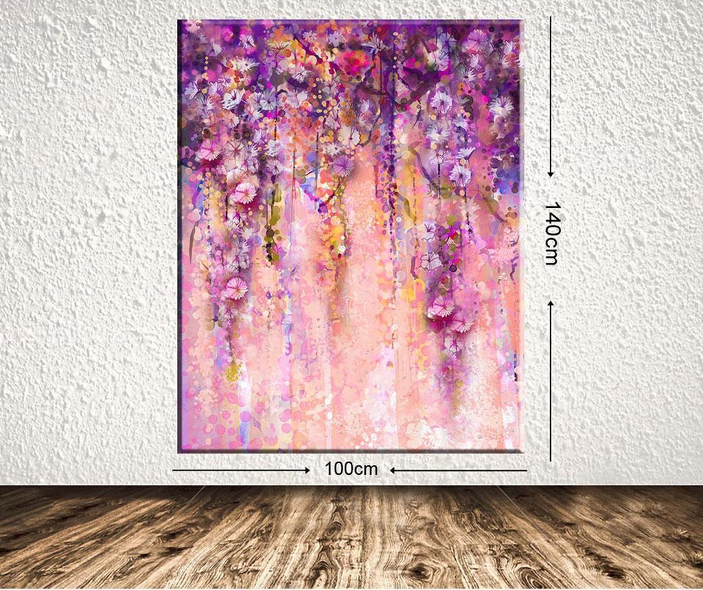 Tablou Purple Dream 100x140 cm