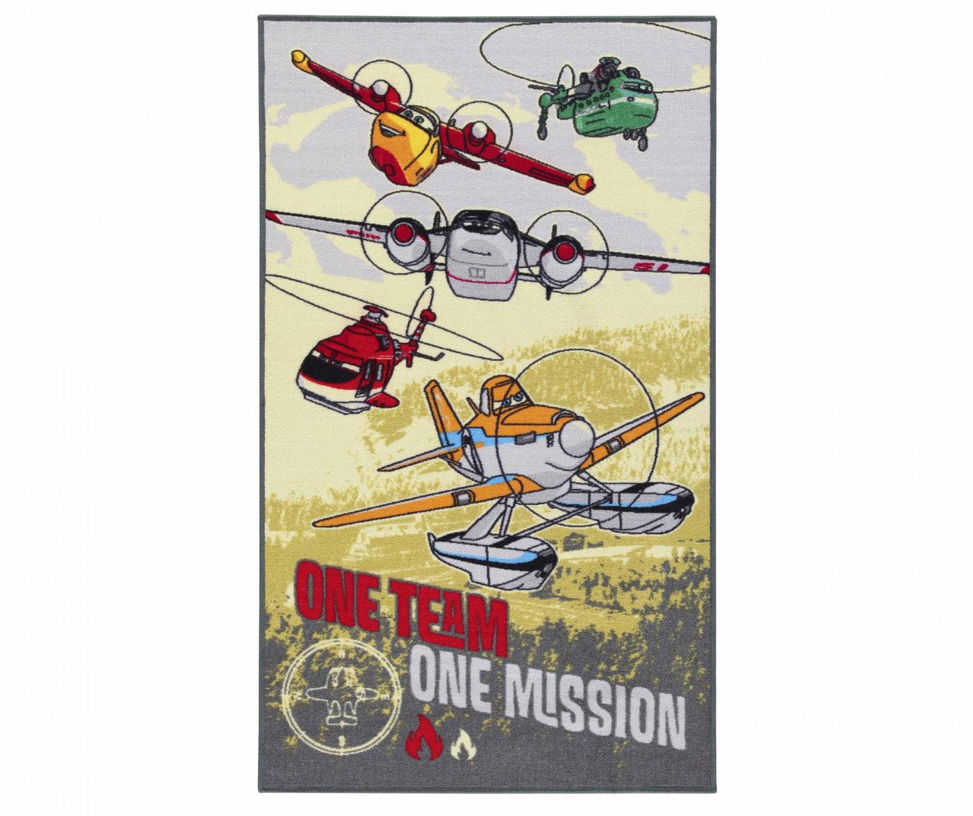 One Team Planes Szőnyeg 80x140 cm