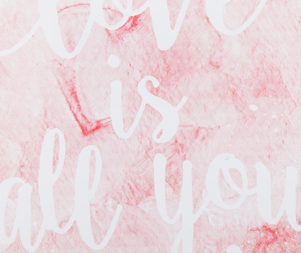 Slika Love Is All You Need 40x50 cm