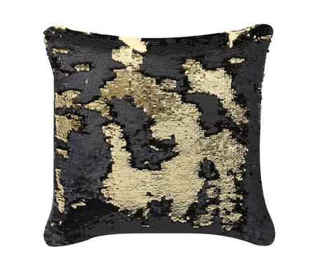 Dekorační polštář Black and Gold 40x40 cm