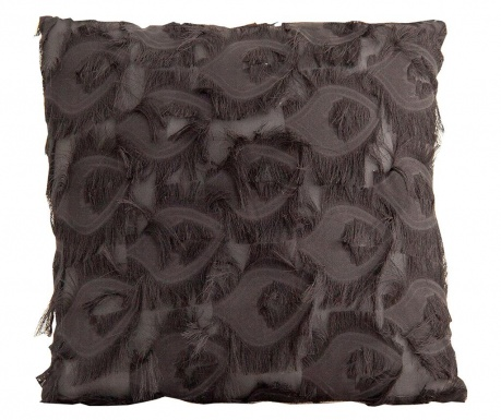 Perna decorativa Fringe Grey 45x45 cm