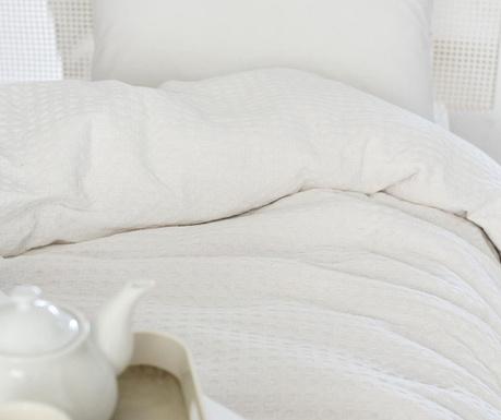 Cuvertura Pique Burum White 160x240 cm