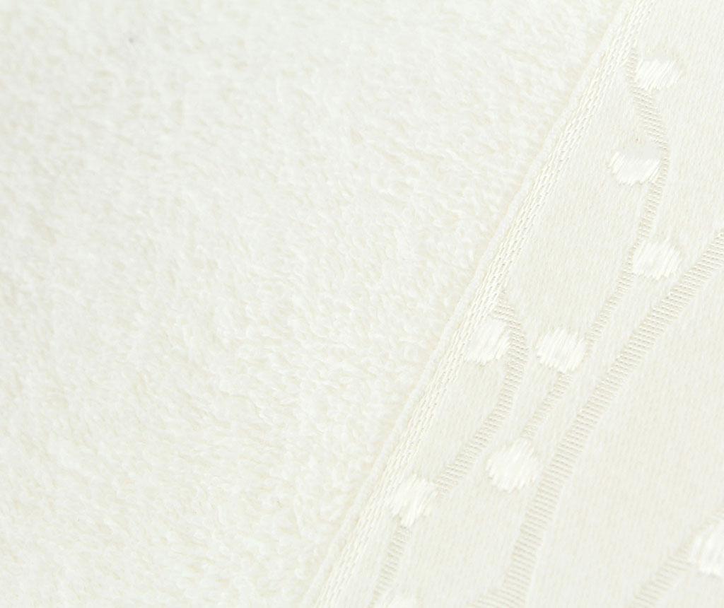 Set 2 prosoape de baie Tomurcuk Ecru 50x90 cm