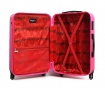 Bucharest Fuchsia 3 db Gurulós bőrönd