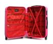 Bucharest Fuchsia Gurulós bőrönd 30.4 L