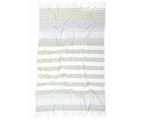 Ručník Pestemal Nanse Green 80x160 cm