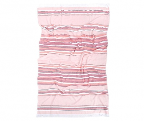 Karnak Salmon Pink Pestemal Fürdőszobai törölköző 80x160 cm