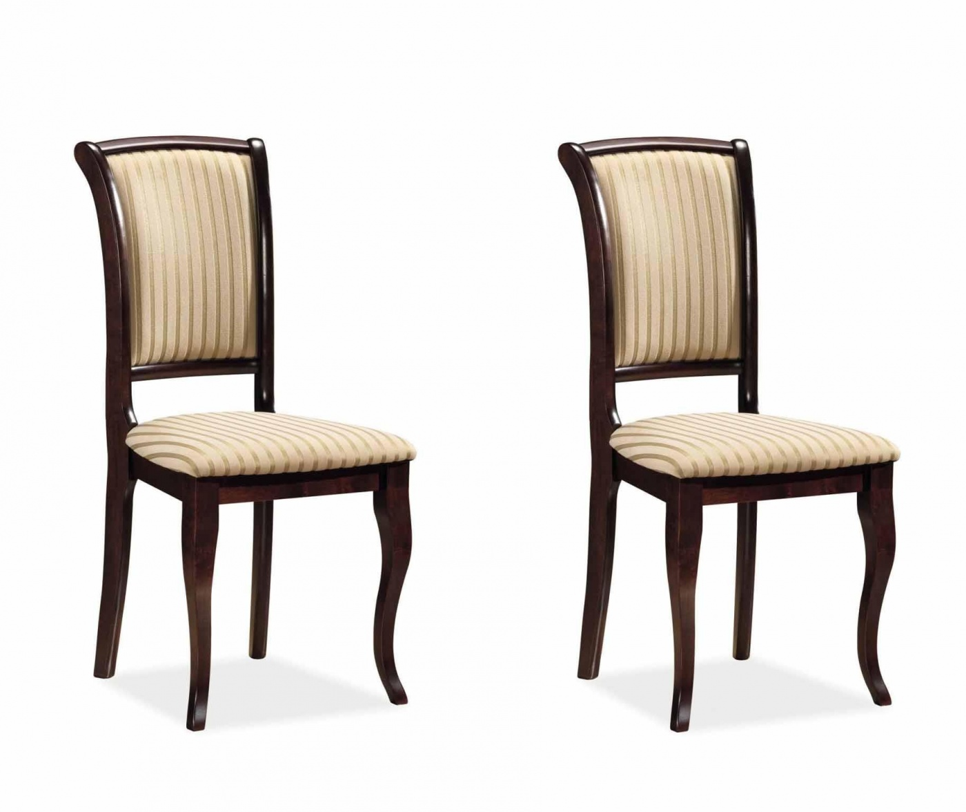 Set 2 stolice Anahi Stripes Pearl