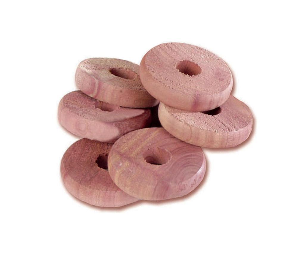 Set 6 discuri anti molii Cedar Disk