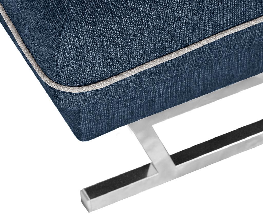 Desna ležaljka za dnevni boravak Giselle Big Jeans Cream