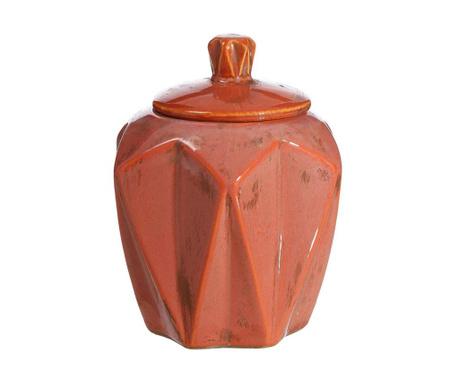 Dekoračná nádoba s vrchnákom Akins