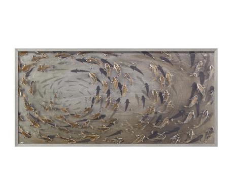 Tablou Fishes 60x120 cm