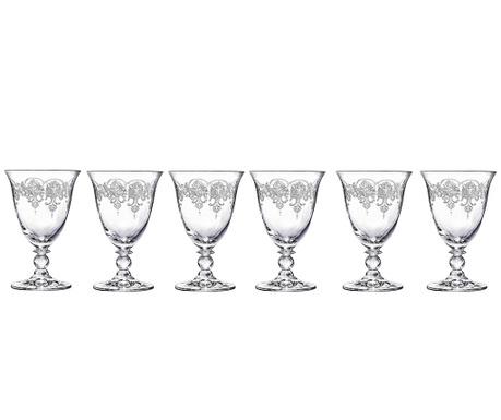 Set 6 čaša za vino Piano 260 ml
