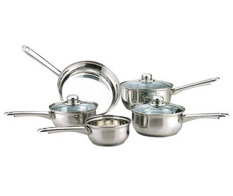 8-dijelni set posuda za kuhanje Tapered