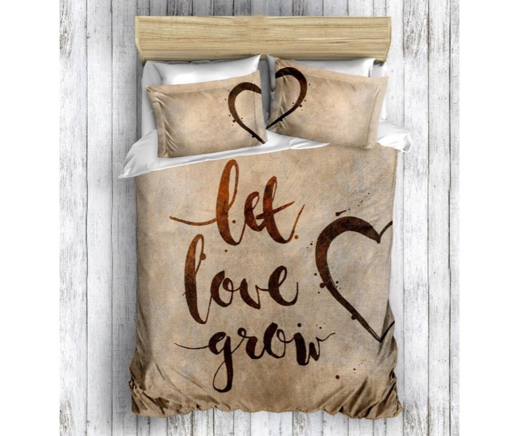 Posteljina King Ranforce Grow Love