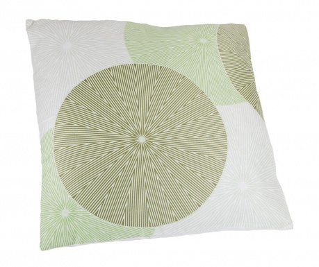 Perna decorativa Spin Green 45x45 cm