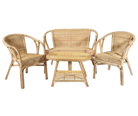 Sada exteriérového nábytku 4 ks Vanda