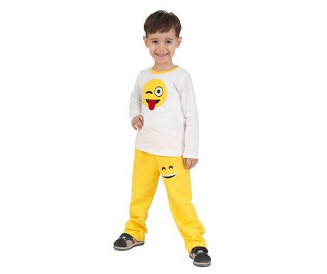 Set dječja bluza i hlače Smile Baggy Yellow