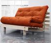 Sofa extensibila Roots Wide Natural and Orange