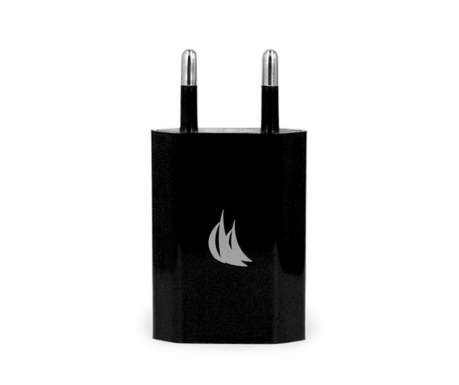 Adaptor pentru priza Mono USB Black