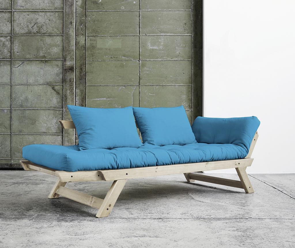 Sofa extensibila Bebop Natural and Horizon Blue