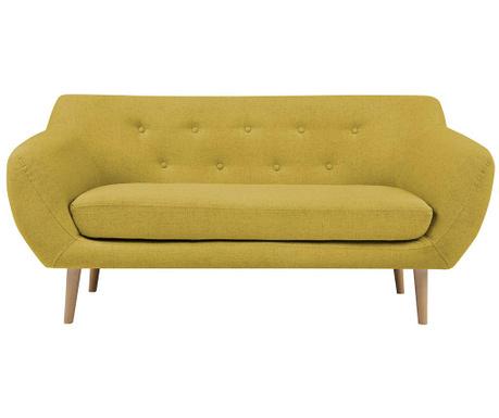 Sicile Yellow Kétszemélyes kanapé