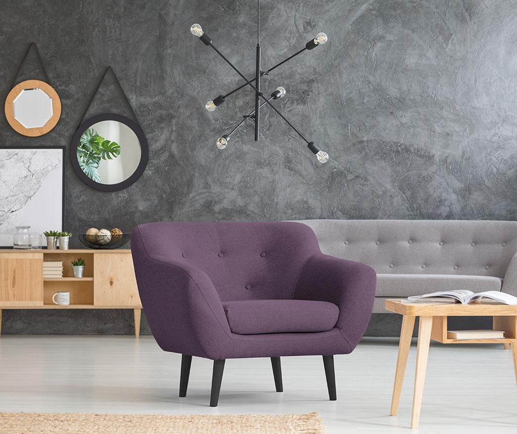 Fotoliu Piemont Violet