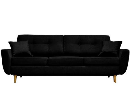 Canapea extensibila 3 locuri Rosa Black