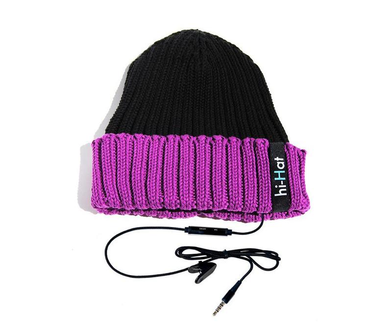 Kapa s integriranim slušalicama hi-Hat Duo Violet