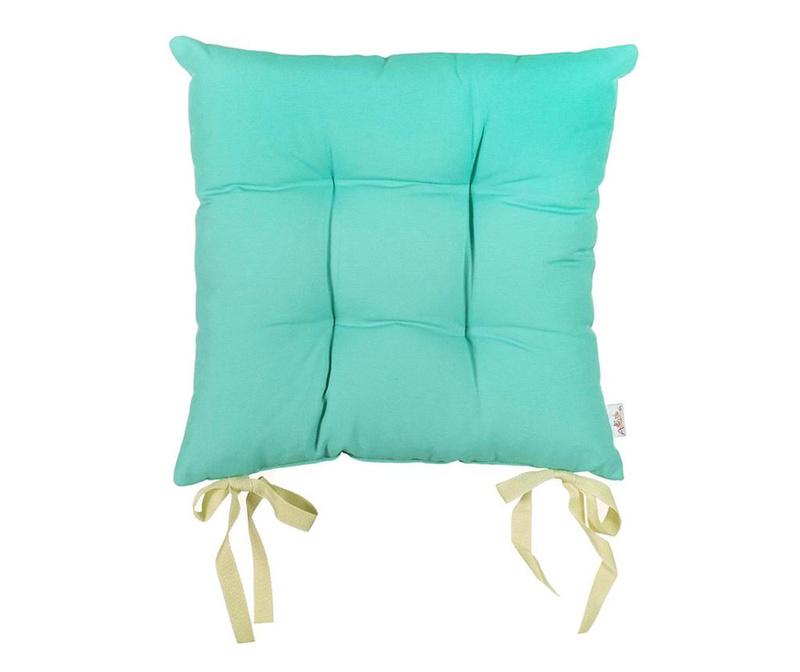 Polštář na sezení Pure Turquoise Blue 37x37 cm
