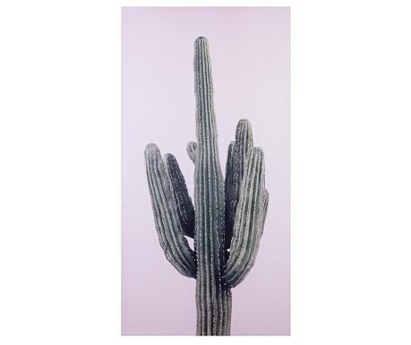 Slika Cactus Glittter Dark 50x100 cm