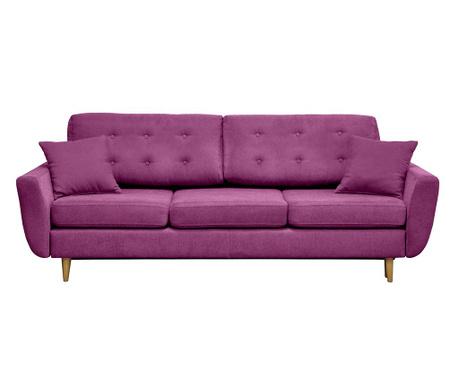 Canapea extensibila 3 locuri Barcelona Violet