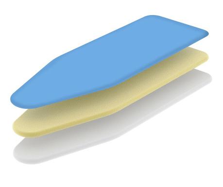 Husa pentru masa de calcat Thermo Blue 50x130 cm